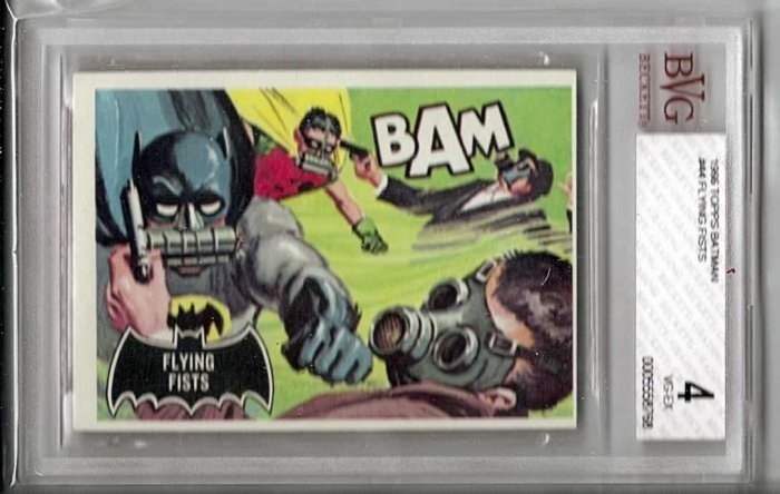 BVG GRADED 1966 BATMAN CARD # 44, 4.0 VG