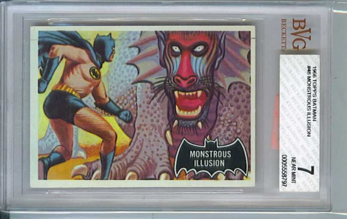 BVG GRADED 1966 BATMAN CARD # 48, 7.0 FN/VF