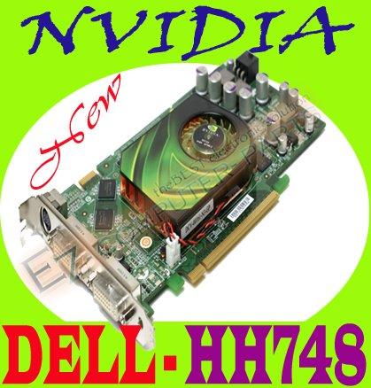 NVIDIA 7900GS 256MB PCI-E Video Graphics Card HH748  #