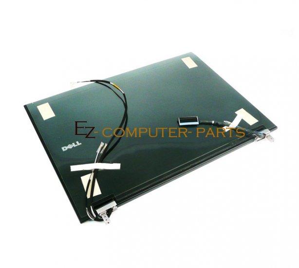 DELL XX187 LCD Cover w/ Hinges Latitude E6500 A+Grade ~