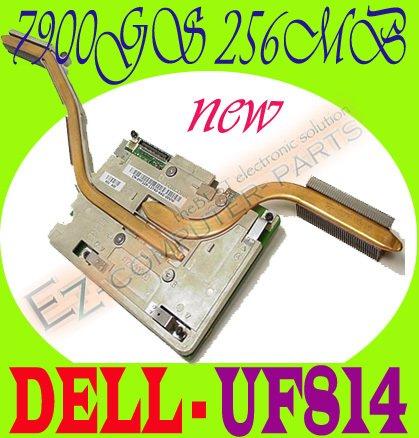 Dell 9400 E1705 NVidia 7900GS 256MB Video F475K UF814 #