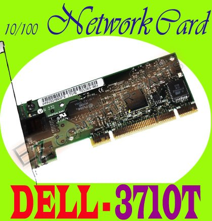 DELL POWEREDGE 10/100 NETWORK CARD NIC 3710T NEW  #