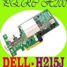 Dell PERC H200 RAID PCI-E SAS Controller Card H215J  !