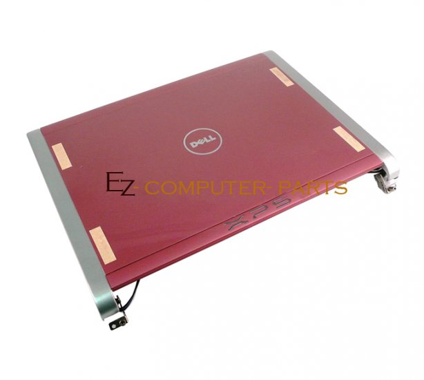 """DELL P296F LCD Cover w/Hinges For XPS M1330 """"A+ Grade""""~"""