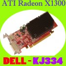ATI Radeon X1300 128MB PCIe DVI Low Profile Video KJ334