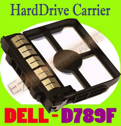 """DELL HARD DRIVE ASSEMBLY CARRIER 3.5"""" BLANK D789F  #"""