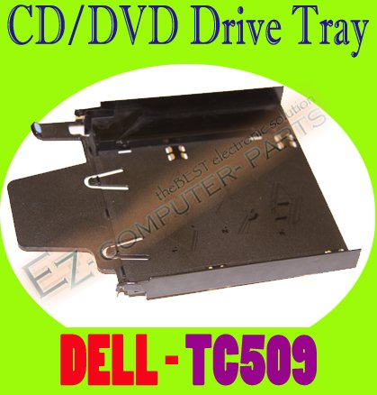 Dell TC509 PE 2950 Black CD/DVD Drive Tray  #