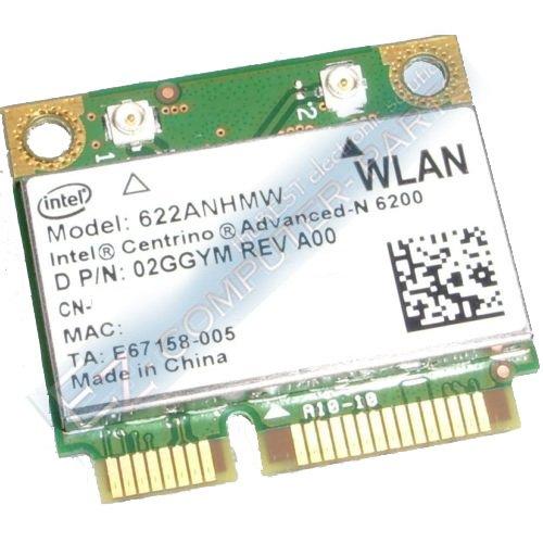 Dell Intel Centrino Advanced-N 6200 Wireless Card 2GGYM