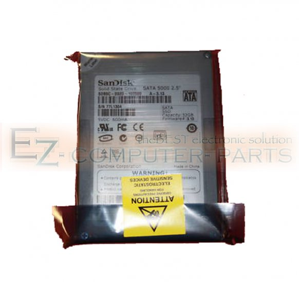 Solid State SATA Drive SSD 32GB Hard Disk DU782 *NEW* :