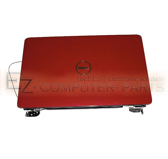 Dell Inspiron 1545 1546 LCD Back Lid Cover Red T234P !
