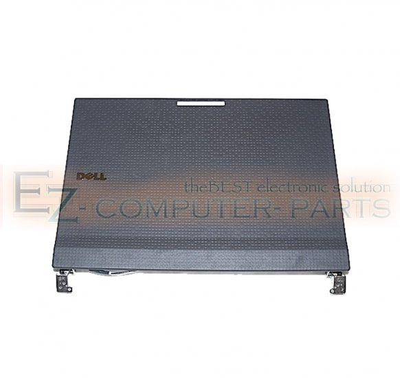 Dell Latitude 2100 LCD Back Cover w/ Hinges R876N *A* !