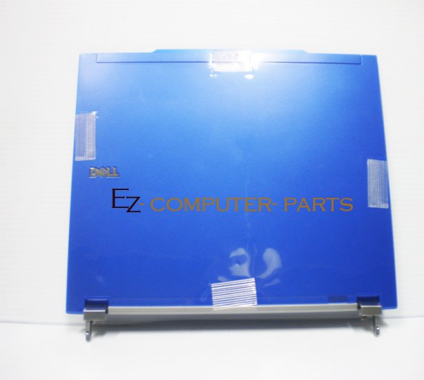 Dell E4300 LCD Back Cover BLUE w/Hnges T125G R003C *A !
