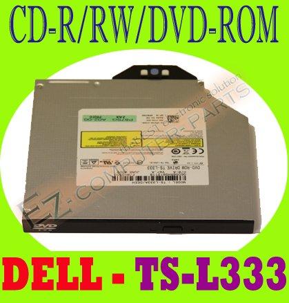 Dell Slim 8x DVD-ROM Drive P875G TS-L333A    #