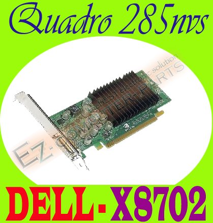 Dell X8702 nVidia Quadro NVS285 256Mb DMS-59 Video Card