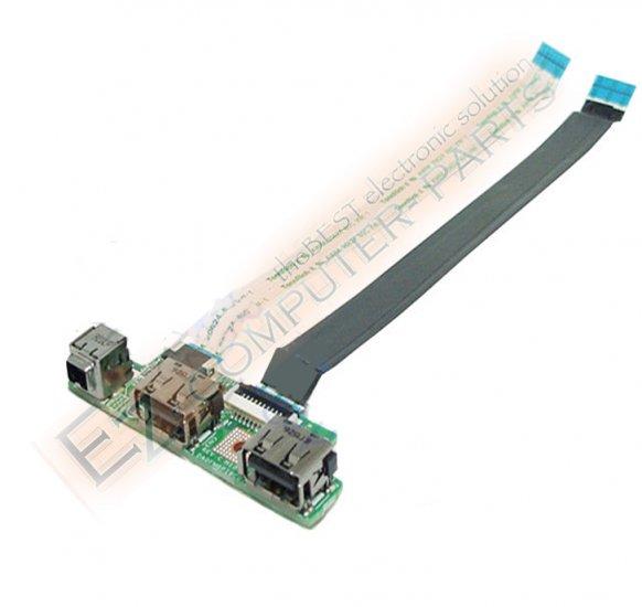 Dell Studio 1535 1536 1537 USB Circuit Board F965C *A*!