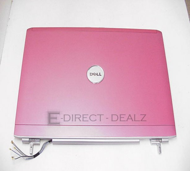 """Dell Inspiron 1720 1721 17"""" LCD Cover & Hinges UW588  !"""