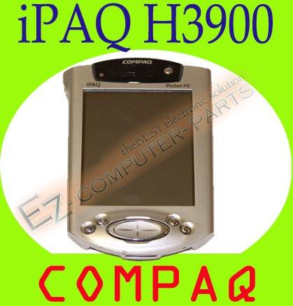 HP Compaq iPAQ H3900 Pocket PC PDA with Cradle  #