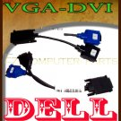 DELL 5H469 CABLE KIT, RADEON, VGA, DVI to VGA to DVI  :