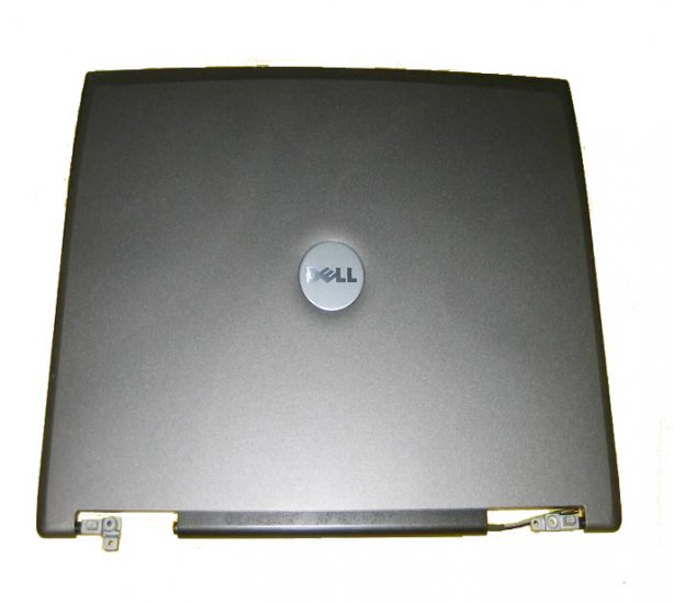 Dell Latitude D520 LCD Back Cover w/ Hinges KG101 *A* !
