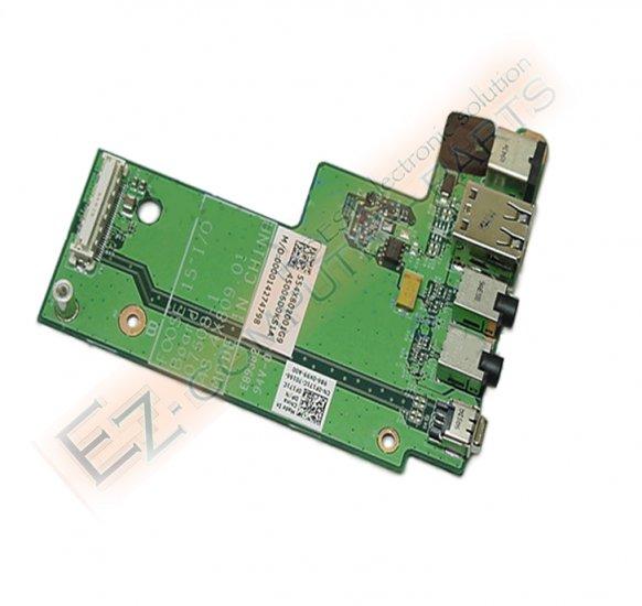 NEW Dell Latitude E5500 Circuit Board w DC Jack F171C !