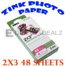Brand New Dell Wasabi Zink Photo Paper 144 Sheets H858K