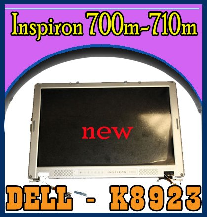 Dell Inspiron 700M 710M LCD Screen w/Cover & Cables NEW
