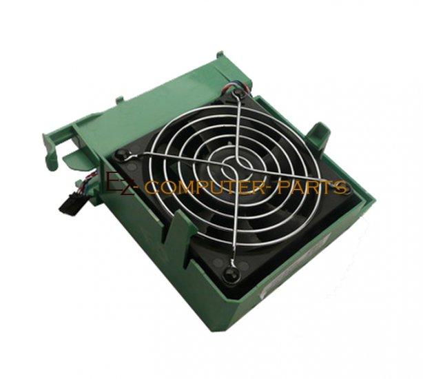 Dell XPS 600 Front Case Fan & Shroud Assy p/n - YC957 ~