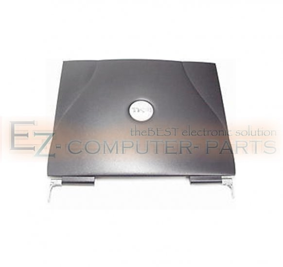 DELL LATITUDE C840 LCD COVER W/ HINGES P/N:  7R055  :