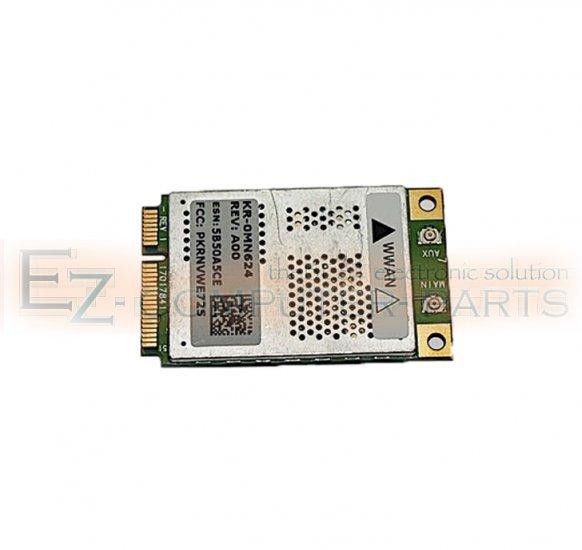 DELL Wireless 5720 Mini PCIe Card MN624  WWAN !