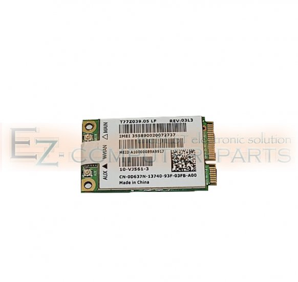 Dell D637N Wireless Card              !