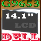 DELL G9653 LAPTOP LCD SCREEN 14.1 WXGA  !