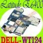 """Dell Latitude E6400 IO Circuit Audio Board  WT124 """"A"""" !"""