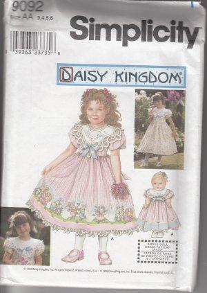Simplicity Daisy Kingdom 9092