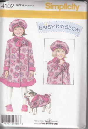 Simplicity Daisy Kingdom 4102