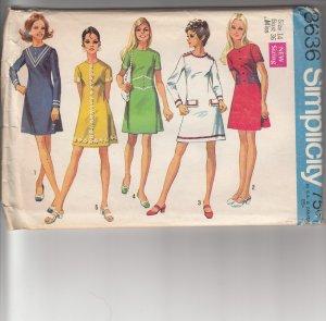 Vintage Simplicity 8636
