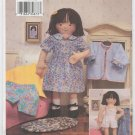 "18"" Soft maggie Doll Butterick 3490"