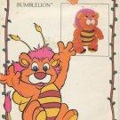 Walt Disneys Wuzzles BumbleLion Butterick 3501