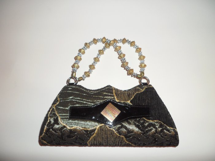 Black/Brown fashionable party purse