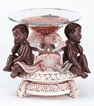 Cherubs Oil Warmer -34136
