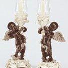 Cherub Candle Holders (Pair) -34135