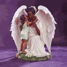 Girl and Angel Figurine -32204