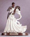Alabastrite Afro-American Bride & Groom -29319