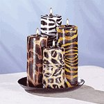 Safari Candle Set -33726