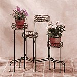4-Tier Metal Plant Stand -31339