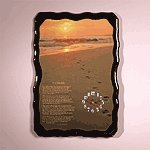 Footprints Quartz Wall Clock -30566