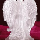 Frosted Guardian Angel with Multicolor Light -32385