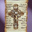 Devotional Scroll Wall Plaque -34798