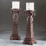 Pineapple Candle Holders (Pair) -33306