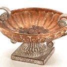 Porcelain Antique-Finish Rose Compote -33627
