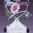 Spun Glass Hummingbird Mom -30254